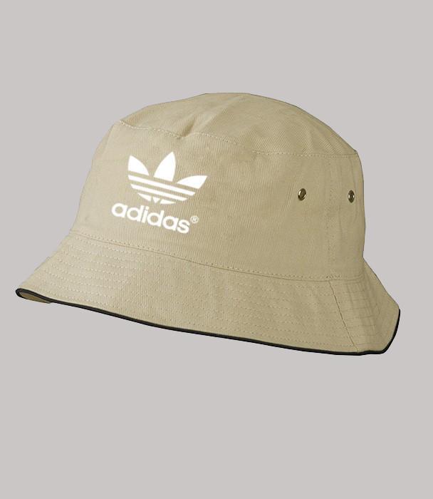 Панама Адидас летняя светло-серая   Adidas мужская как оригинал, фото 1