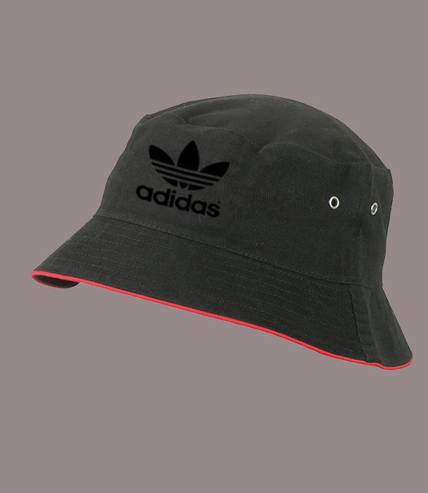 Панама Адидас Black, черная  | Adidas мужская как оригинал