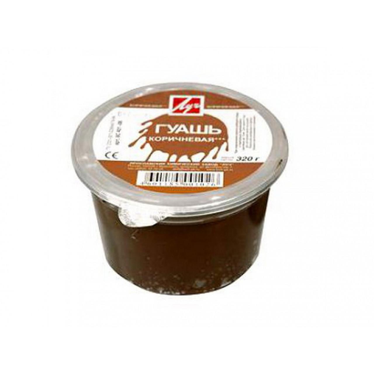 Гуаш коричнева 225 мл, 0.32 кг 8С401-08