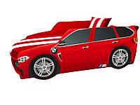 Кровать машина Премиум BMW красный
