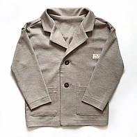 Пиджак серый 6-9 лет Mi Mi by Andriana