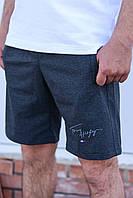"""Мужские трикотажные шорты больших размеров """"Tommy"""".Реплика Summer-2020."""