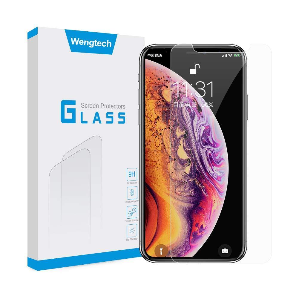 Защитное закаленное противоударное стекло  WengTech 9H для iPhone XR 6.1 дюймов
