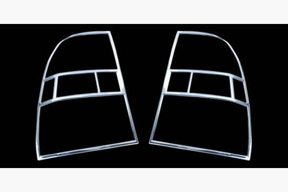 Накладки на стопы (2 шт, пласт) Kia Sportage 2004-2010 гг.