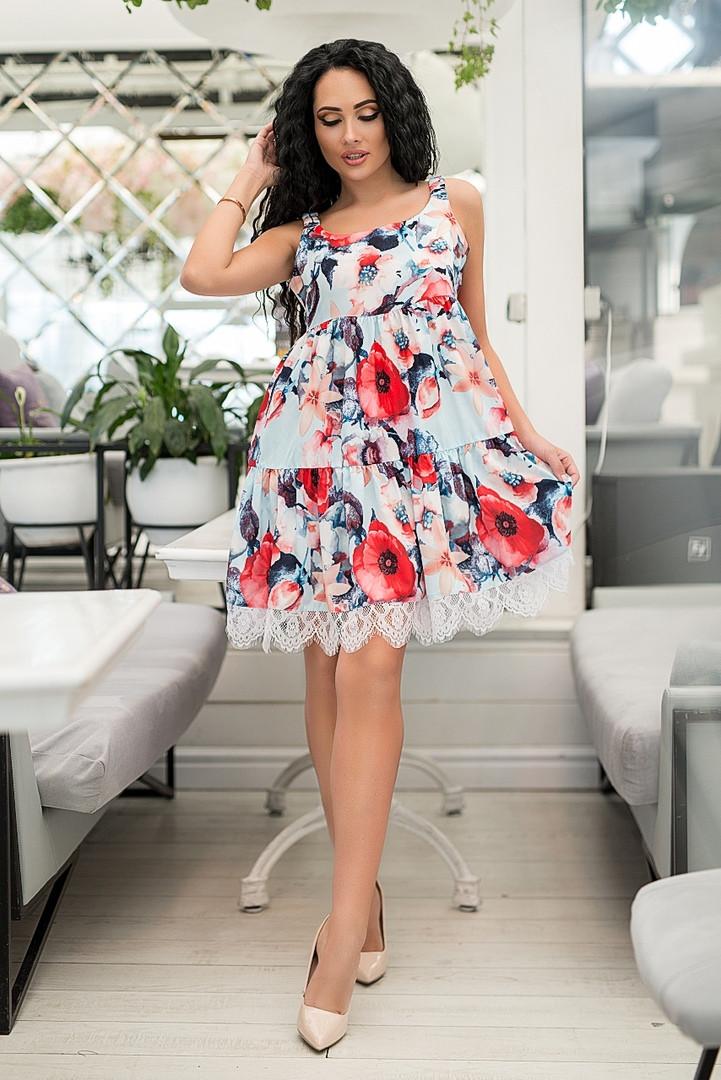 Женское платье софт 44-52, фото 1