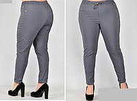Женские брюки летние на резинке, с 48-58 размер, фото 1