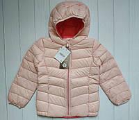 Весенне-осенняя куртка на натуральном пуху для девочки C&A Германия Размер 110