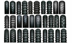 Камерные шины для мотоциклов