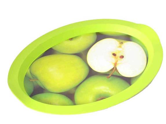Піднос Овал з декором 47*35*4см Яблуко 167055 ТМАЛЕАНА, фото 2
