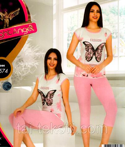 Комплект 2-ка футболка с лосинами Night Аngel № 9574, фото 2