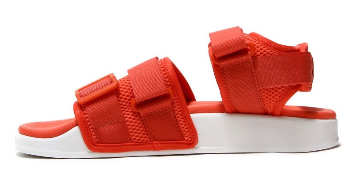 5ef0d516b Женские сандалии Adidas Adilette Sandal Red (босоножки адидас адилет,  красные)