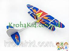 Літаюча модель літака-планера з електродвигуном (моторчиком) без пульта управління Original size Aircraft, фото 2
