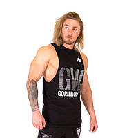 Gorilla Wear, Майка для бодибилдинга Dakota Sleeveless T-Shirt Black