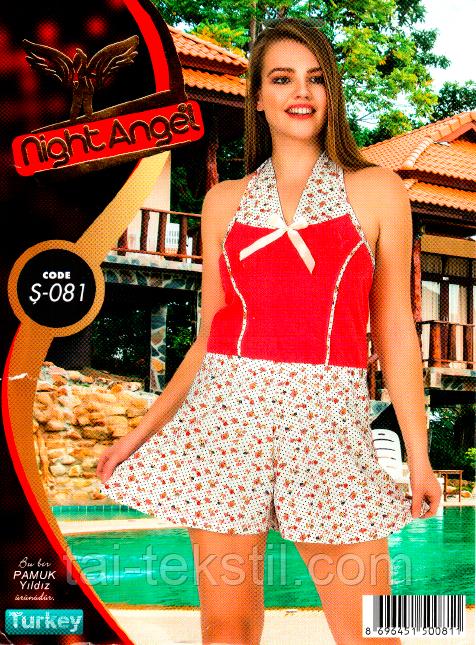 Женский комбинезон с свободными шортами Night Angel № 081