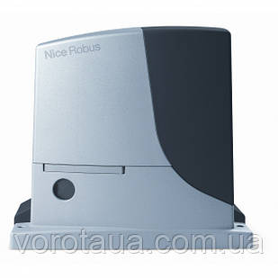 Автоматика для відкатних воріт Nice Robus 600 вагою до 600кг Привід, 4м рейки та пульт