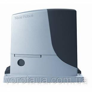 Автоматика для відкатних воріт Nice Robus 1000 вагою до 1000 кг Привід, 4м рейки та пульт