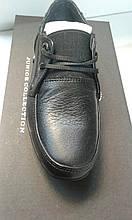 Туфлі шкіра хл. Constanta 1539, 39 чорний