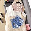 Женская блузка с расклешенными рукавами 44-46 (в расцветках), фото 3