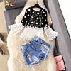 Женская блузка с расклешенными рукавами 44-46 (в расцветках), фото 2
