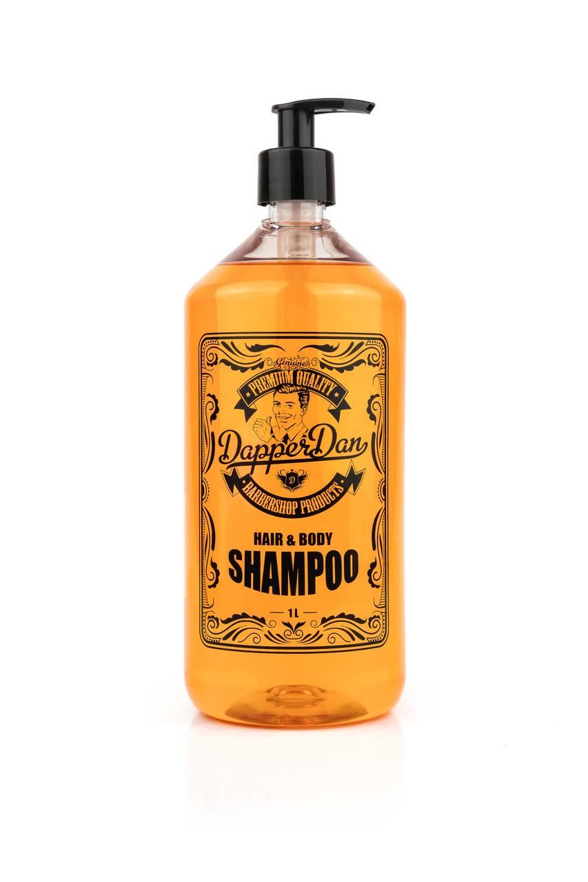 Шампунь для ежедневного применения (прозрачный) 1л (New) - Dapper Dan Body & Hair Shampoo 1L