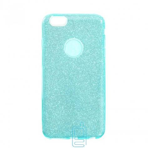 Чехол силиконовый Shine Apple iPhone 6. 6S бирюзовый, фото 2