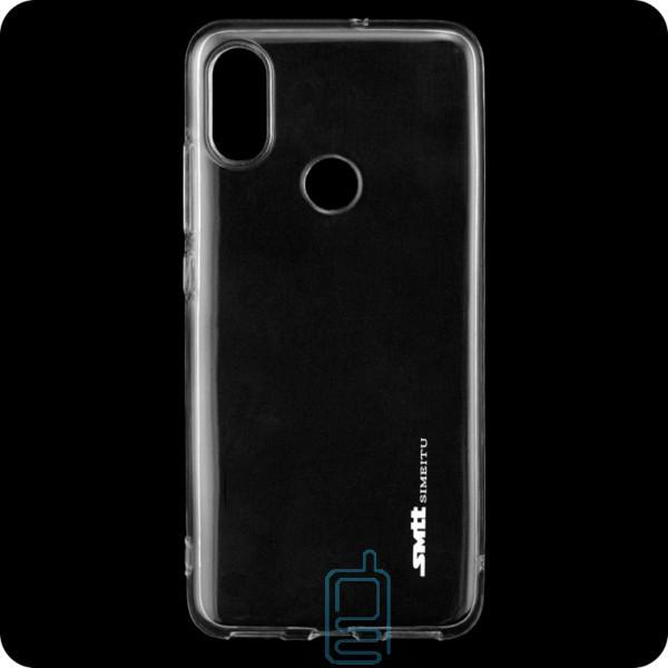 Чехол силиконовый SMTT Xiaomi Mi 8 прозрачный