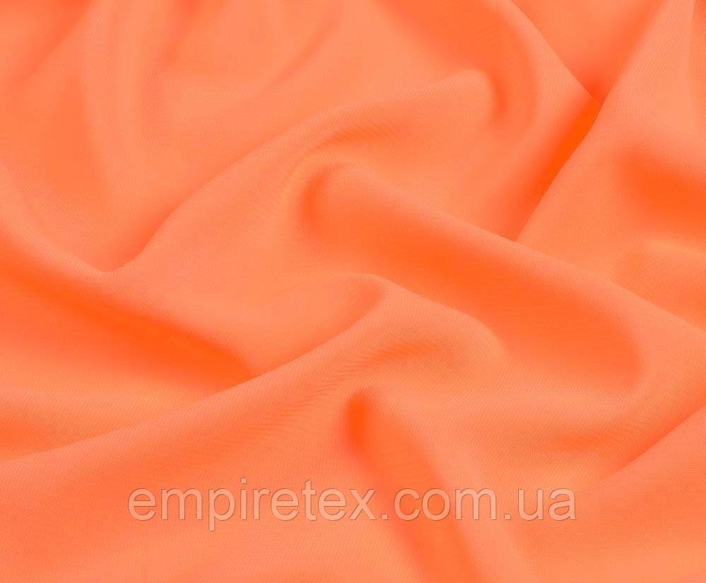 Шифон Однотон Оранжевый