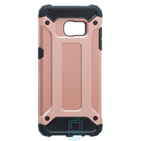 Чехол-накладка Motomo X5 Samsung S7 Edge G935 розово-золотистый