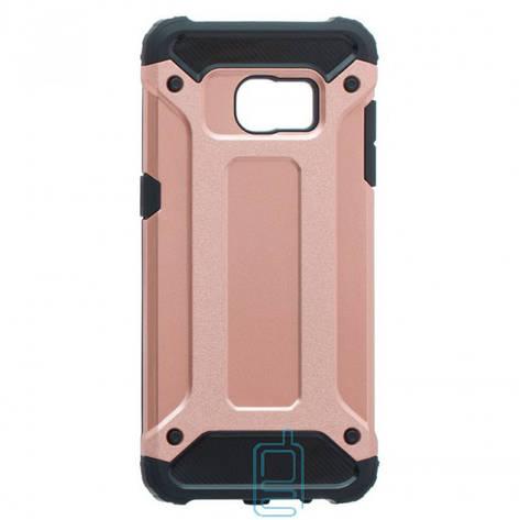 Чехол-накладка Motomo X5 Samsung S7 Edge G935 розово-золотистый, фото 2