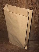 Бумажный пакет-саше 280х140х50 бурый крафт, 100шт/уп., 2150