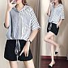 Стильная женская рубашка на завязках 44-50 (в расцветках), фото 2