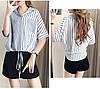 Стильная женская рубашка на завязках 44-50 (в расцветках), фото 8