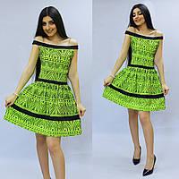 Яркое женское платье летнее