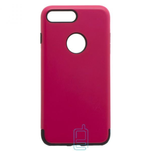 Чехол-накладка Motomo X1 Apple iPhone 7 Plus. 8 Plus малиновый