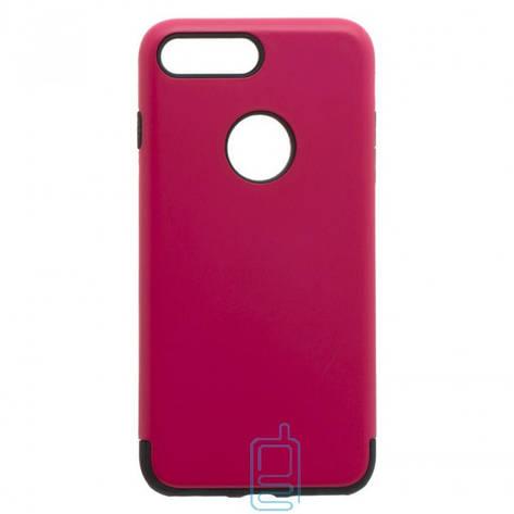Чехол-накладка Motomo X1 Apple iPhone 7 Plus. 8 Plus малиновый, фото 2