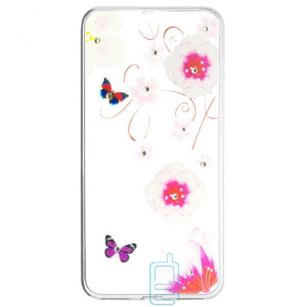 Накладка Fashion Diamond Huawei P9 Lite принт #10