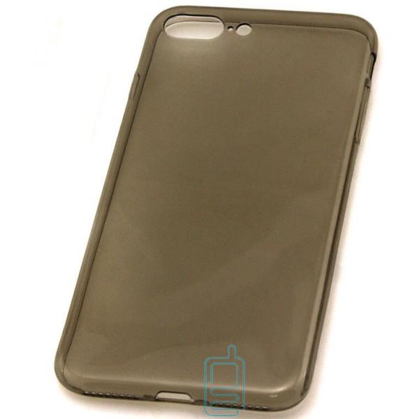 Чехол силиконовый Slim Apple iPhone 7 Plus затемненный