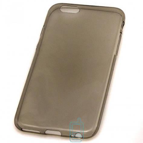 Чехол силиконовый Slim Apple iPhone 6 затемненный, фото 2