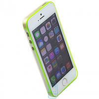 Чехол-бампер Apple iPhone 5 Vser салатовый