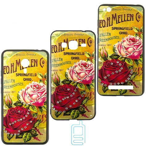 Чехол-накладка Flower Case Samsung J5 2017 J530 Springfield Rose, фото 2