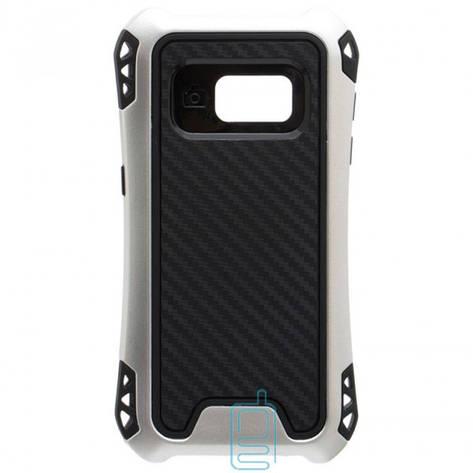 Чехол силиконовый WUW X1 Samsung S7 G930 серебристый, фото 2