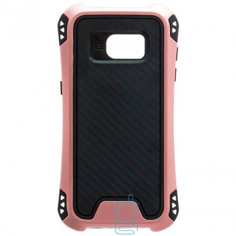 Чехол силиконовый WUW X1 Samsung S7 Edge G935 розово-золотистый, фото 2