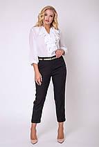 Женские брюки с золотыми лампасами больших размеров (Сонет lzn), фото 3