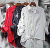 Модная рубашка с абстрактным рисунком 44-50 (в расцветках), фото 3