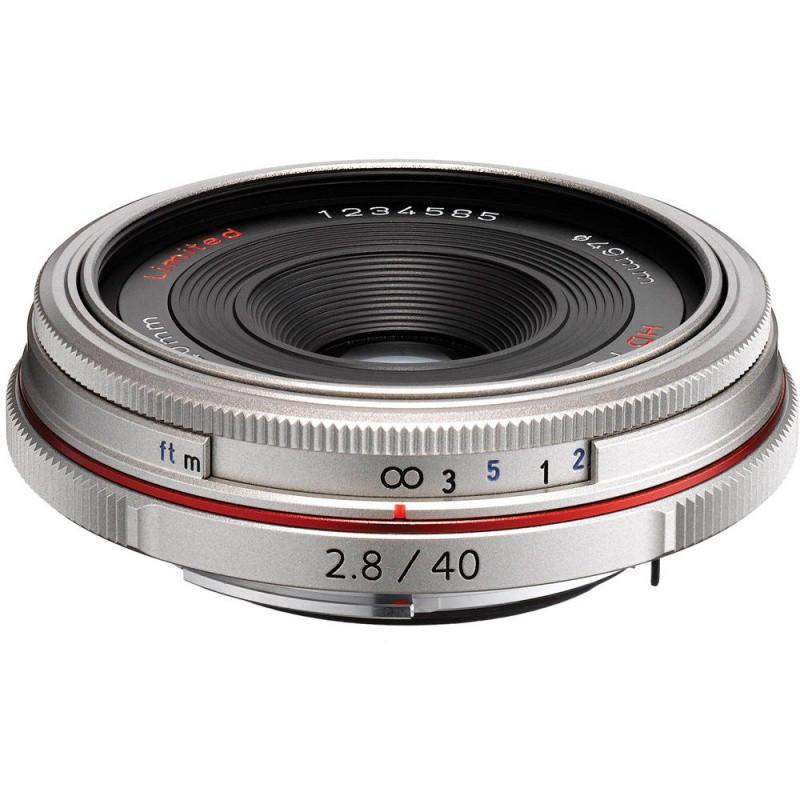 Объектив HD Pentax DA 40mm F/2.8 Limited Silver