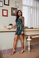 Элегантное женственное платье с асимметричным кроем  РАЗНЫЕ ЦВЕТА