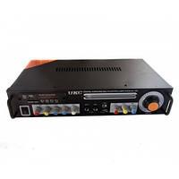 Усилитель звука UKC KA-123 2*150 maxx + караоке  *1226