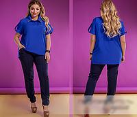 Костюм жіночий з сорочкою з 50-62 розмір, фото 1