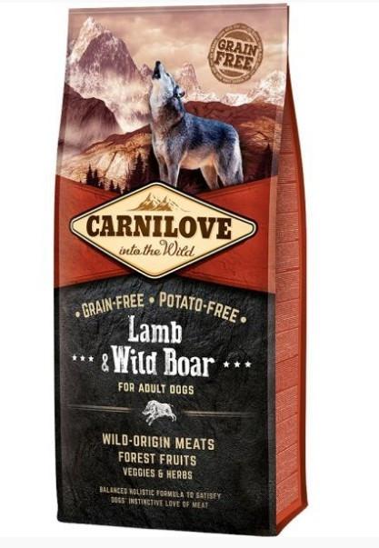 Корм для собак Carnilove Lamb & Wild Boar 12кг