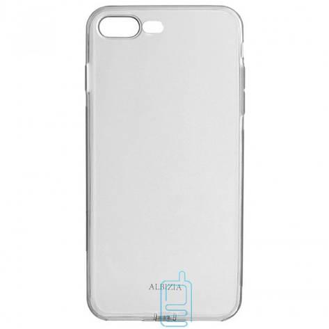 Чехол силиконовый Albizia с Заглушкой Apple iPhone 7 Plus. 8 Plus черный, фото 2